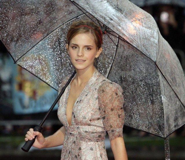 scegliere l'ombrello trasparente